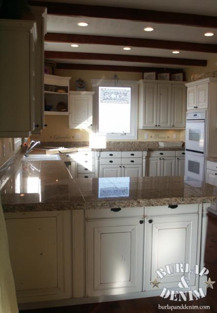 French Cottage Kitchen traditional-kitchen