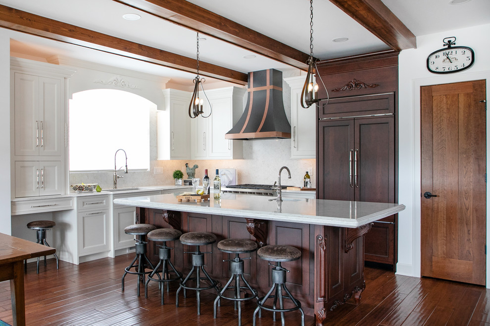 French Country Classic - Traditional - Kitchen - Milwaukee ...