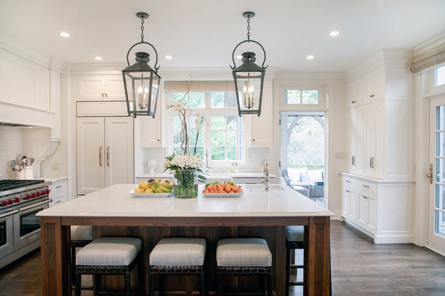 French Country Couture Traditional Kitchen Milwaukee By