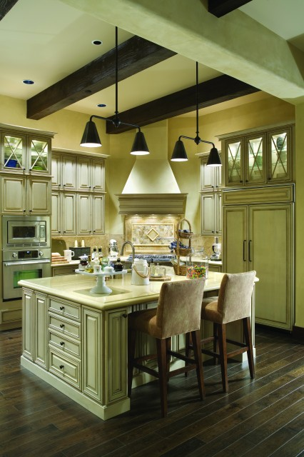 French Country Elegance Traditional Kitchen Portland By Alan Mascord