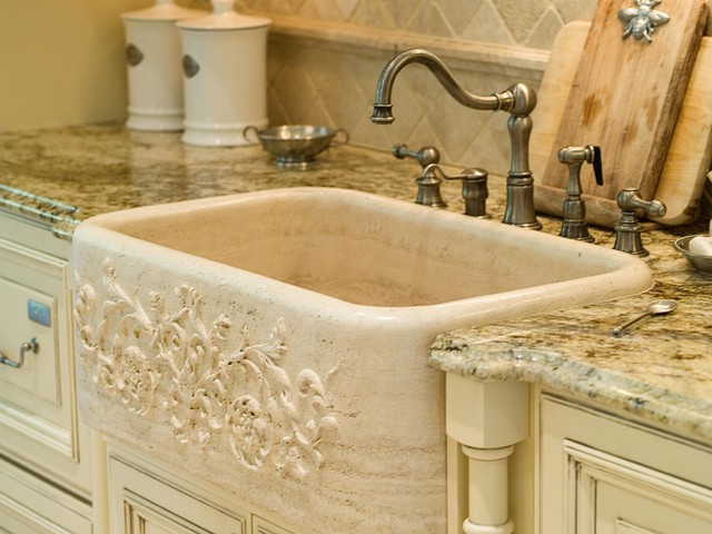 French country - Kitchen sink in french ...