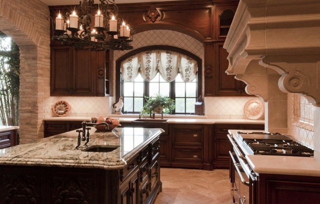 French Country Estate Traditional Kitchen Austin