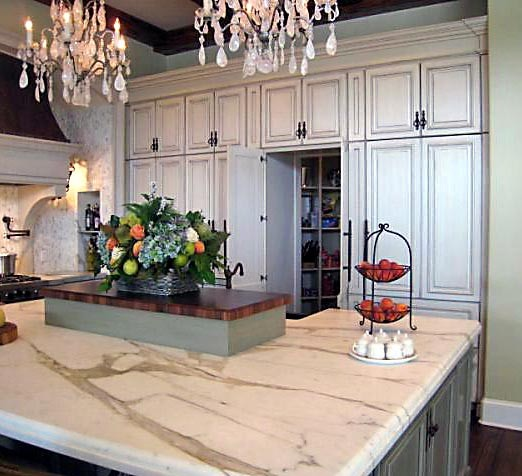 French Country Estates Kitchen traditional-kitchen