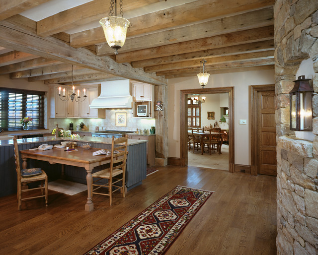 French country home rustic kitchen philadelphia by for Kitchen designs french country