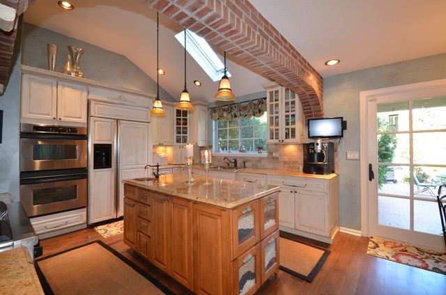 French Country in Denver, CO traditional-kitchen