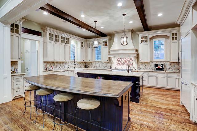 厨房-白色-橱柜装修效果图
