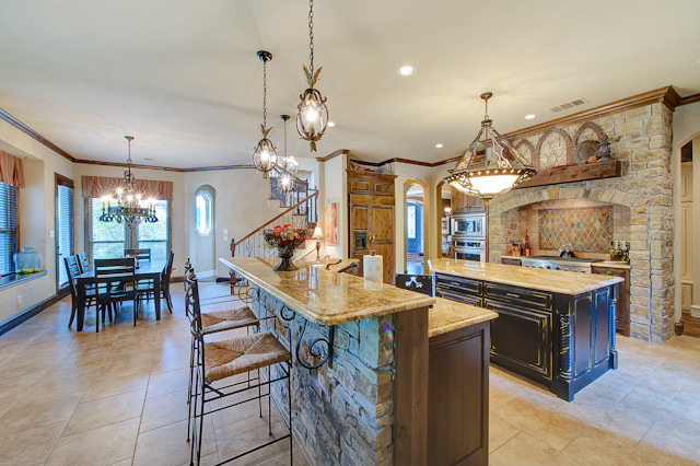 French Country In Keller traditional-kitchen