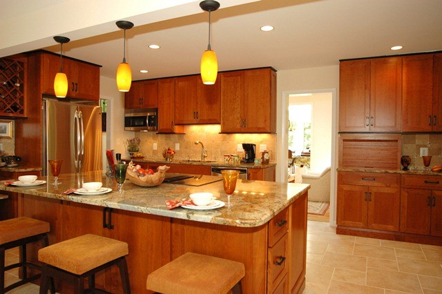 French Country Inspired Kitchen traditional-kitchen