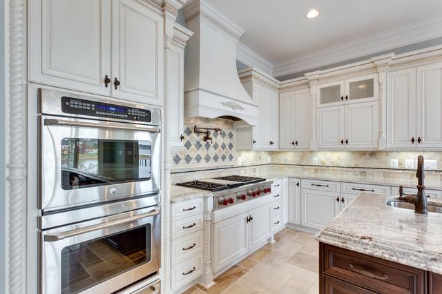 French Country Kitchen Design Spotsylvania Va By Reico Kitchen Bath Traditional Kitchen