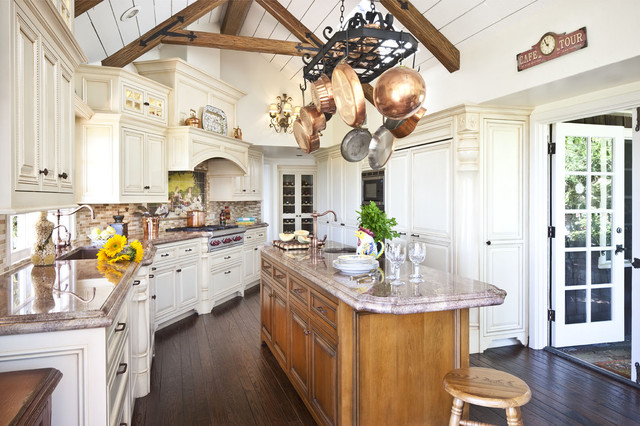 French Country Kitchen traditional-kitchen