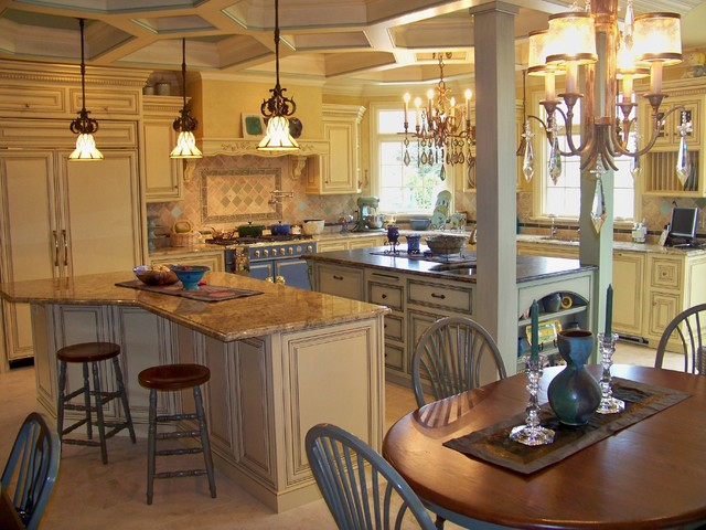 French Country Kitchen Eclectic Chicago By McDowell Remodeling