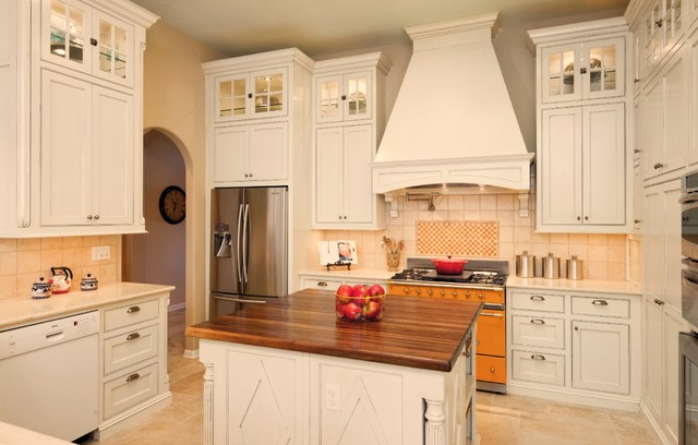 French Country Kitchen Traditional Kitchen Austin By Nine Design Group