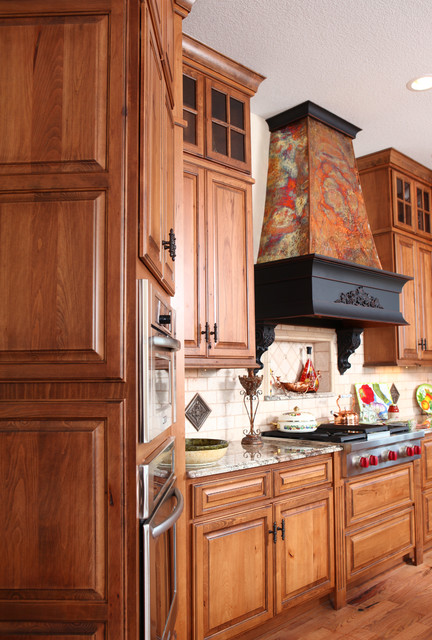 French Country Kitchen - Rustic Beech traditional-kitchen