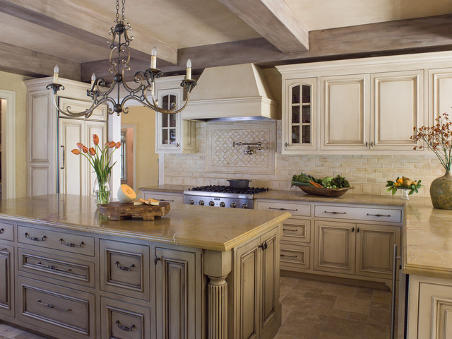 French Country Kitchen - Traditional - Kitchen - San ...