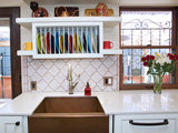 eclectic kitchen Kitchen Sinks: Antibacterial Copper Gives Kitchens a Gleam (6 photos)