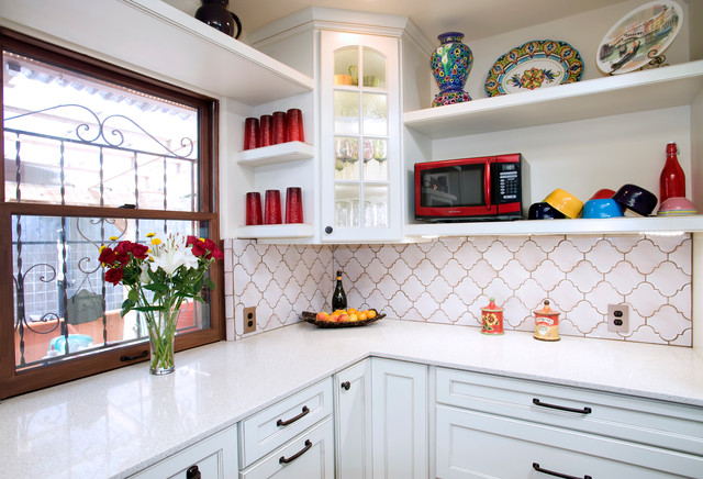 French Country Kitchen eclectic-kitchen