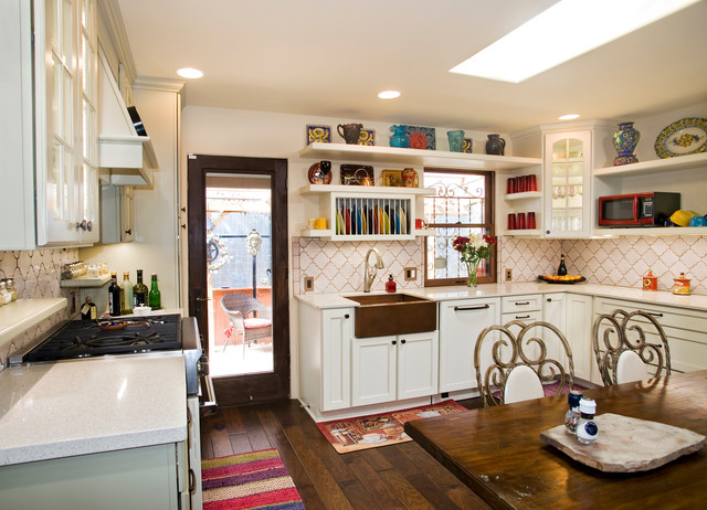 French Country Kitchen - Eclectic - Kitchen - Austin - by UB Kitchens