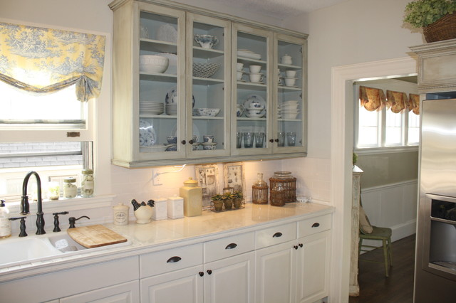 French Country Makeover - Eclectic - Kitchen - atlanta - by Vintage Fine Finishes