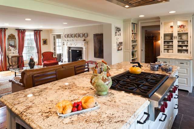 French Country Farmhouse Kitchen Baltimore By Owings Brothers