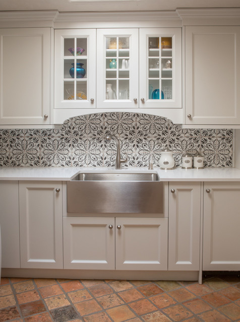 French country santa fe nm farmhouse kitchen for French country flooring