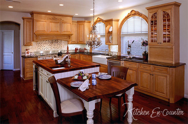 French Country Styled Kitchens and Baths farmhouse-kitchen