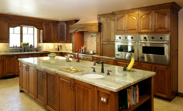 French Country Thousand Oaks Traditional Kitchen Los