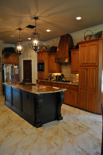 French elegant kitchen traditional kitchen new for Elegant traditional kitchens