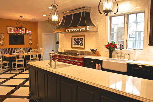 French Kitchen Traditional Kitchen Baltimore By Eb