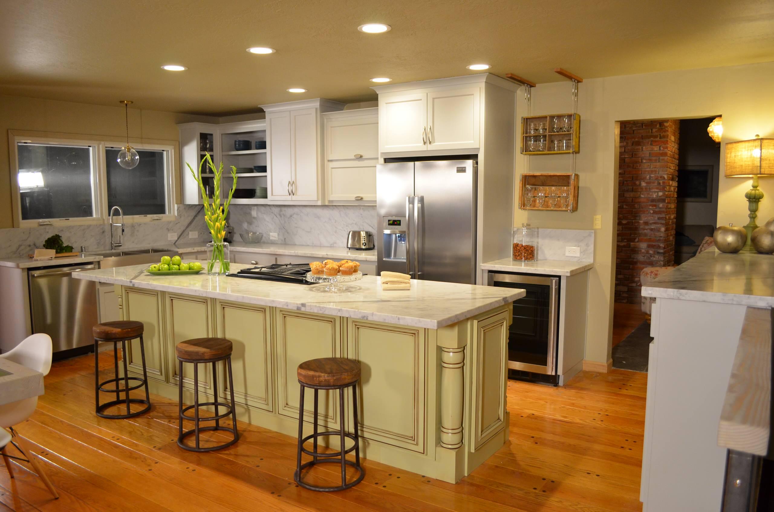 """French Modern Kitchen"" House Crashers 913"