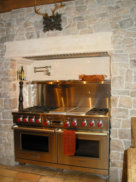 French Normand estate traditional-kitchen