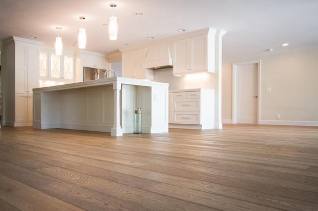 French Oak Flooring By Garrison Contemporary Kitchen