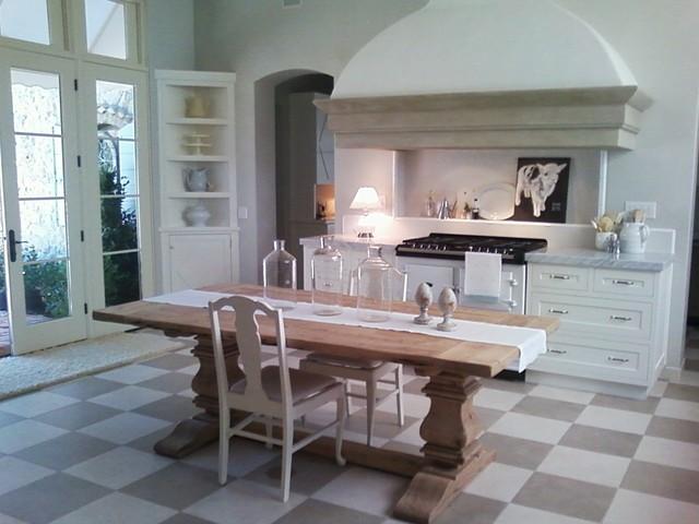 French Provence Farmhouse Farmhouse Kitchen