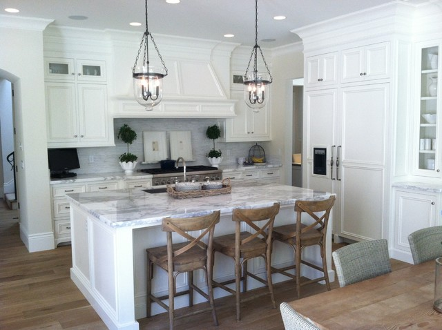 French Provence Villa Traditional Kitchen Sacramento