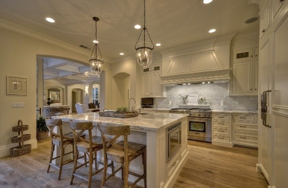 Nice French Provence Villa Traditional Kitchen