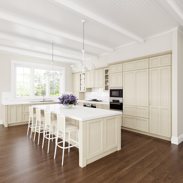 French Provincial Kitchen Traditional Sydney