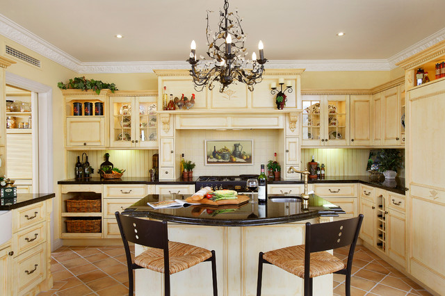 French Provincial Kitchen Traditional Kitchen Perth By Town Country Designs