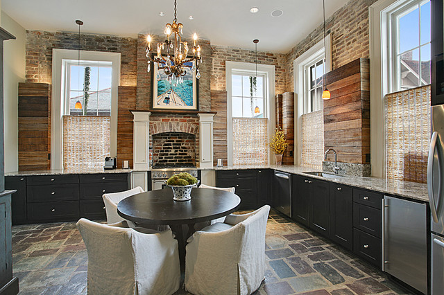 French Quarter New Orleans Kitchen Renovation - traditional