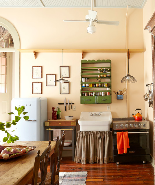 Superieur French Quarter Pied A Terre   Eclectic   Kitchen   New ...