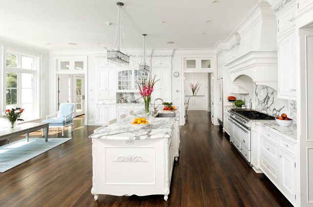 french vanilla traditional kitchen - French Kitchen Designs