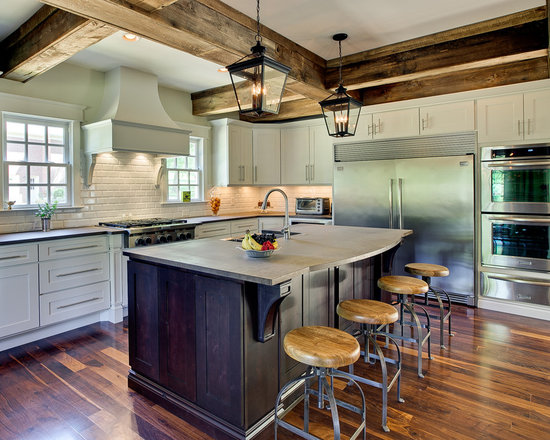 Eclectic kitchen dark cabinets for Kitchen ideas eclectic