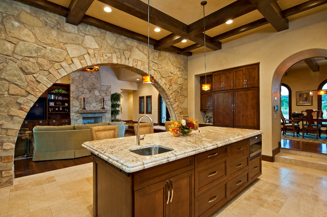 Fresh classic traditional kitchen austin by for Bella villa interior design