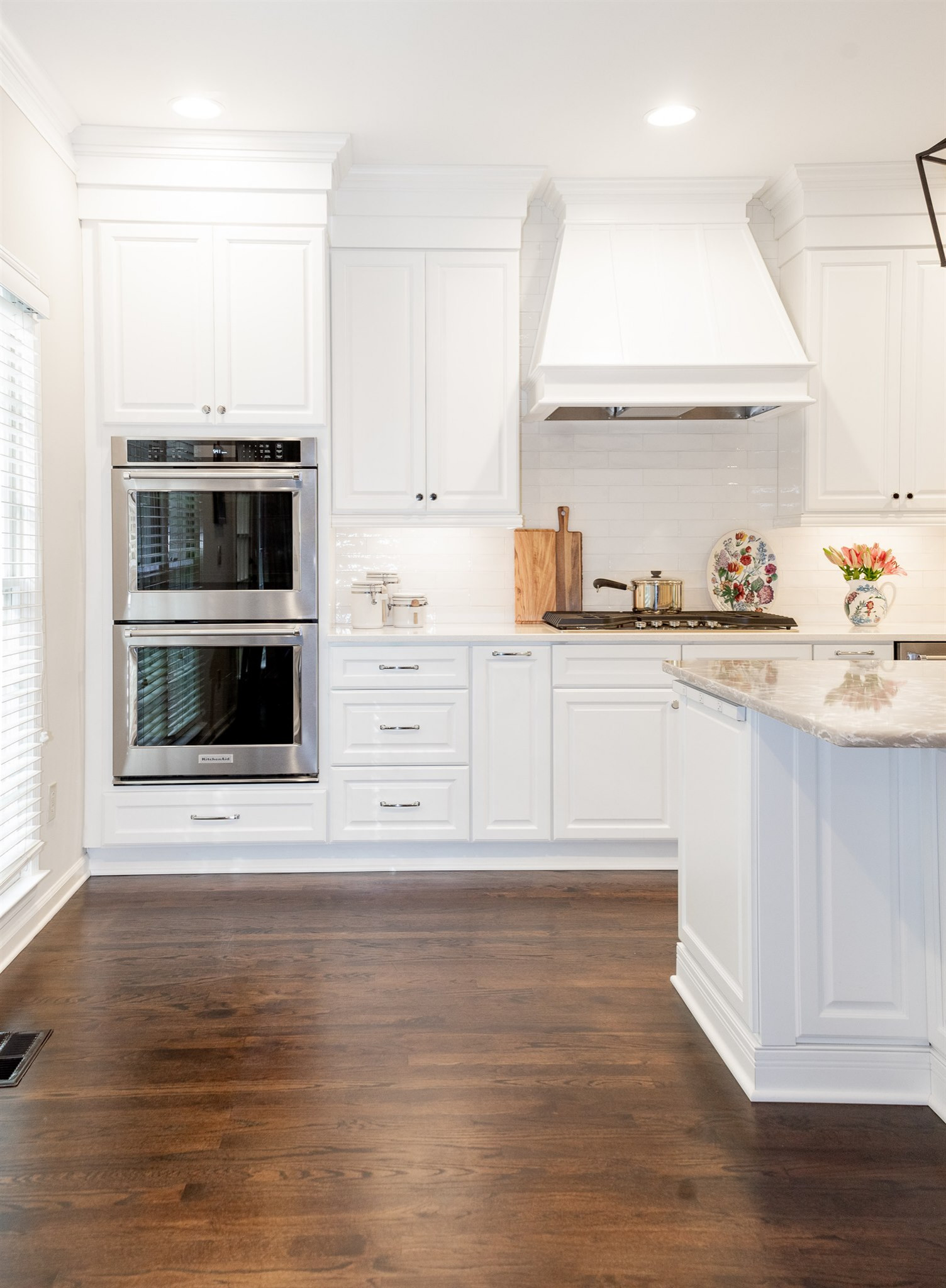 Fresh and elegant Woodstock kitchen