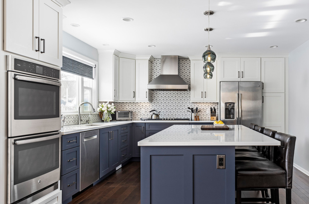 Fresh Home Redesign in Ann Arbor, Michigan - Traditional ...