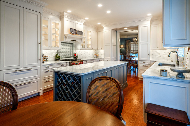 Fresh New Look traditional-kitchen