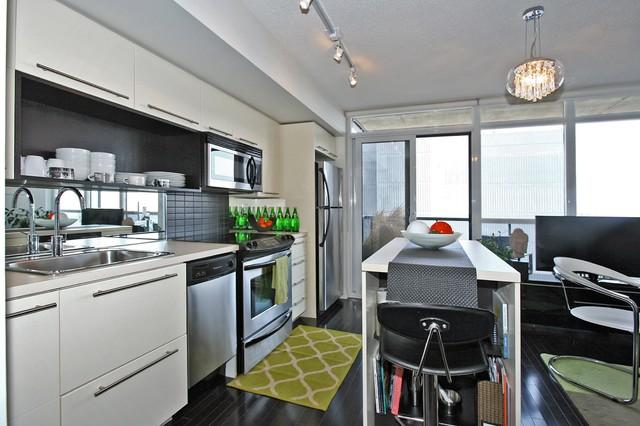 Fresh Urban Condo Design Modern Kitchen Toronto By Theo Flamenbaum Interiors