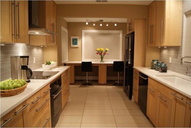 Fresh Warm And Modern Ranch Modern Kitchen Chicago By Edyta Co Interior Design