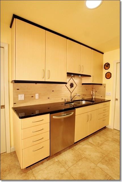 Fresno Kitchen Remodel Engineered Bamboo Cabinets Zodiac Countertops Modern Kitchen