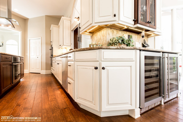 Freund Waypoint Zelmar Home Remodel Traditional Kitchen Orlando By Zelmar Kitchen