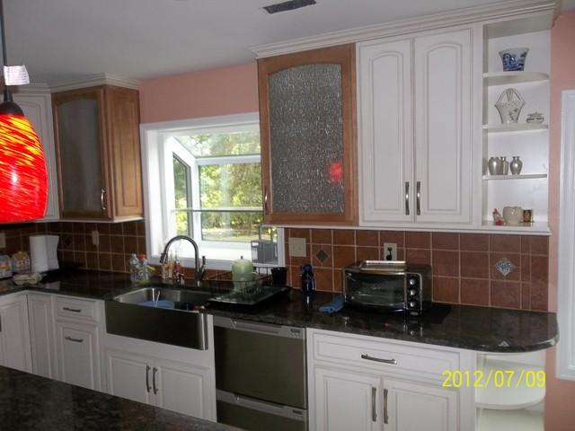 Frist floor renavation West Windsor NJ traditional-kitchen