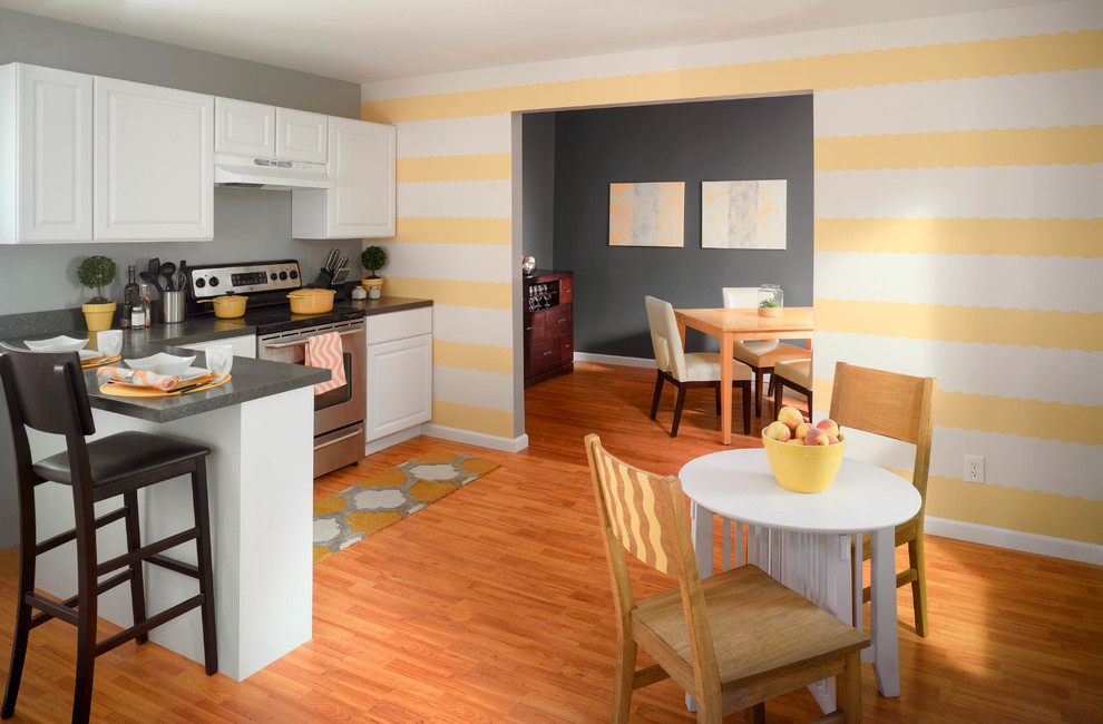 Frogtape Shape Tape Yellow Kitchen Kitchen Cleveland By Frogtape Houzz